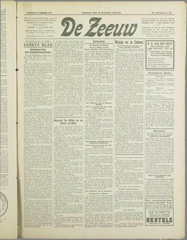 De Zeeuw. Christelijk-historisch nieuwsblad voor Zeeland 1937-02-06
