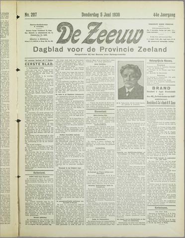 De Zeeuw. Christelijk-historisch nieuwsblad voor Zeeland 1930-06-05