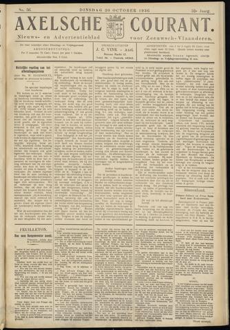 Axelsche Courant 1936-10-20
