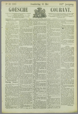 Goessche Courant 1915-05-13