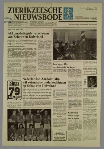 Zierikzeesche Nieuwsbode 1976-01-15
