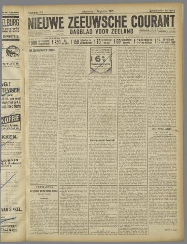 Nieuwe Zeeuwsche Courant 1921-08-01