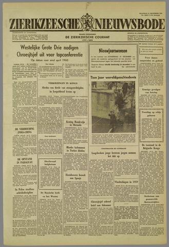 Zierikzeesche Nieuwsbode 1959-12-21
