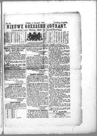 Nieuwe Goessche Courant 1879-11-11