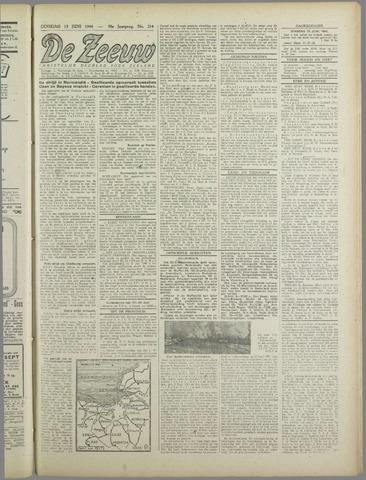 De Zeeuw. Christelijk-historisch nieuwsblad voor Zeeland 1944-06-13