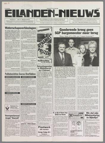 Eilanden-nieuws. Christelijk streekblad op gereformeerde grondslag 1995-01-27