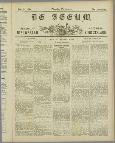 De Zeeuw. Christelijk-historisch nieuwsblad voor Zeeland 1901-01-15