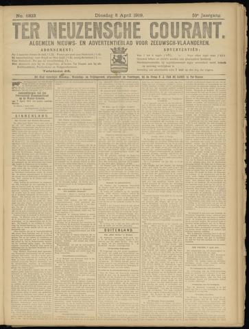Ter Neuzensche Courant. Algemeen Nieuws- en Advertentieblad voor Zeeuwsch-Vlaanderen / Neuzensche Courant ... (idem) / (Algemeen) nieuws en advertentieblad voor Zeeuwsch-Vlaanderen 1919-04-08