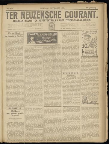 Ter Neuzensche Courant. Algemeen Nieuws- en Advertentieblad voor Zeeuwsch-Vlaanderen / Neuzensche Courant ... (idem) / (Algemeen) nieuws en advertentieblad voor Zeeuwsch-Vlaanderen 1929-11-01