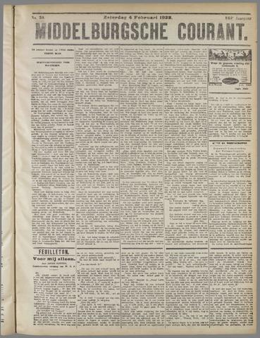Middelburgsche Courant 1922-02-04