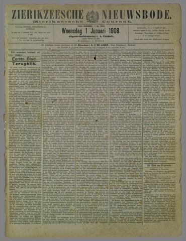 Zierikzeesche Nieuwsbode 1908