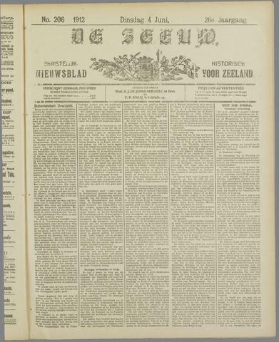 De Zeeuw. Christelijk-historisch nieuwsblad voor Zeeland 1912-06-04