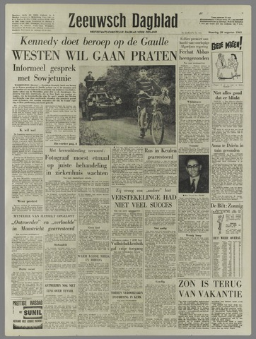 Zeeuwsch Dagblad 1961-08-28