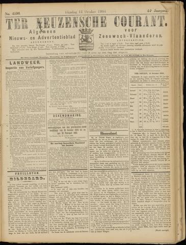 Ter Neuzensche Courant. Algemeen Nieuws- en Advertentieblad voor Zeeuwsch-Vlaanderen / Neuzensche Courant ... (idem) / (Algemeen) nieuws en advertentieblad voor Zeeuwsch-Vlaanderen 1904-10-11