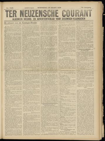 Ter Neuzensche Courant. Algemeen Nieuws- en Advertentieblad voor Zeeuwsch-Vlaanderen / Neuzensche Courant ... (idem) / (Algemeen) nieuws en advertentieblad voor Zeeuwsch-Vlaanderen 1934-03-28