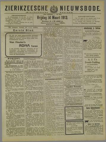 Zierikzeesche Nieuwsbode 1913-03-14