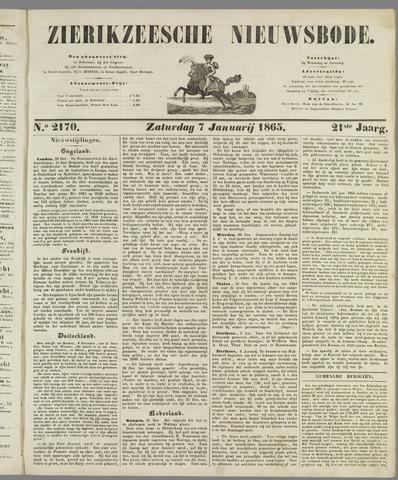 Zierikzeesche Nieuwsbode 1865-01-07
