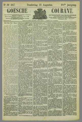 Goessche Courant 1917-08-23