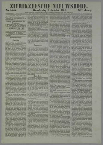 Zierikzeesche Nieuwsbode 1881-10-06