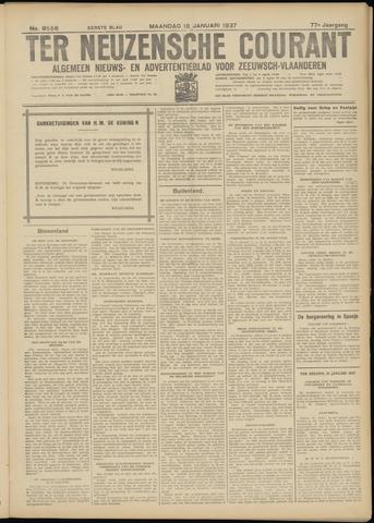 Ter Neuzensche Courant. Algemeen Nieuws- en Advertentieblad voor Zeeuwsch-Vlaanderen / Neuzensche Courant ... (idem) / (Algemeen) nieuws en advertentieblad voor Zeeuwsch-Vlaanderen 1937-01-18