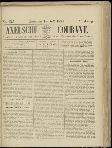 Axelsche Courant 1891-07-18
