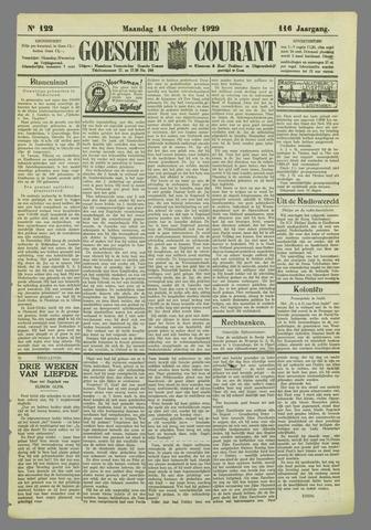 Goessche Courant 1929-10-14