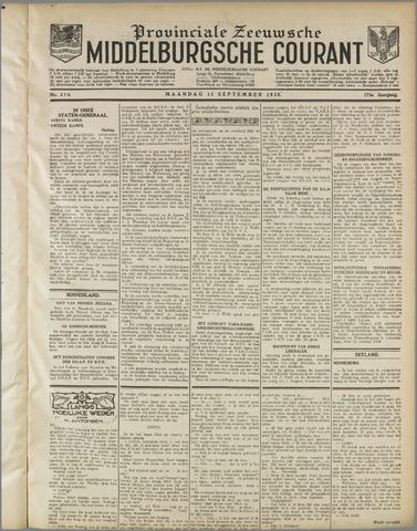 Middelburgsche Courant 1930-09-15