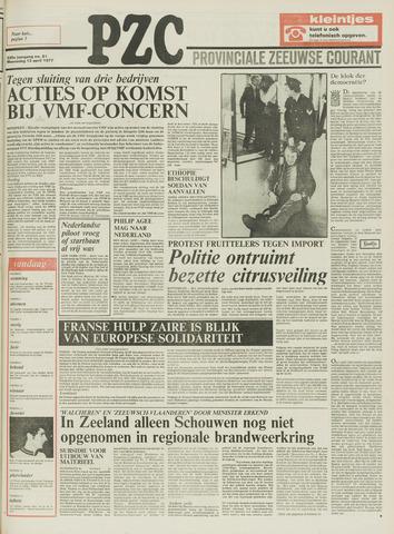 Provinciale Zeeuwse Courant 1977-04-13