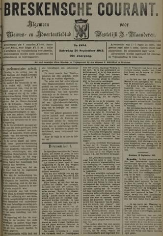 Breskensche Courant 1913-09-20