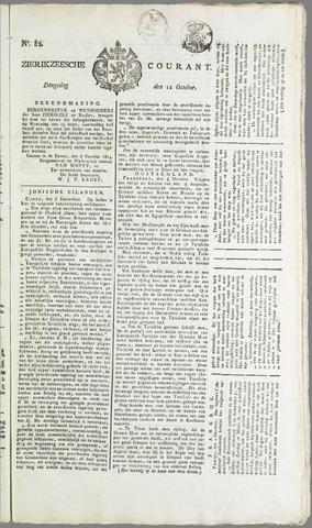 Zierikzeesche Courant 1824-10-12