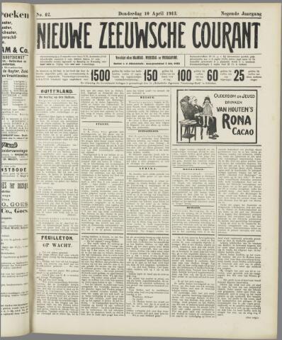 Nieuwe Zeeuwsche Courant 1913-04-10