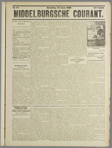 Middelburgsche Courant 1925-06-13