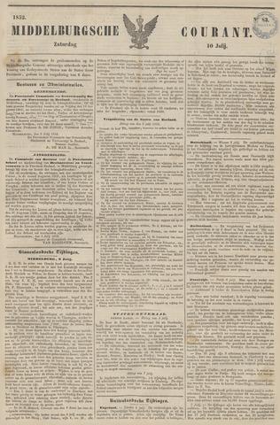 Middelburgsche Courant 1852-07-10