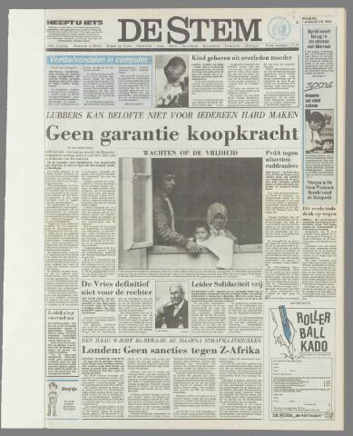 de Stem 1986-08-01