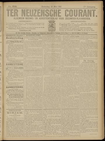 Ter Neuzensche Courant. Algemeen Nieuws- en Advertentieblad voor Zeeuwsch-Vlaanderen / Neuzensche Courant ... (idem) / (Algemeen) nieuws en advertentieblad voor Zeeuwsch-Vlaanderen 1917-05-19