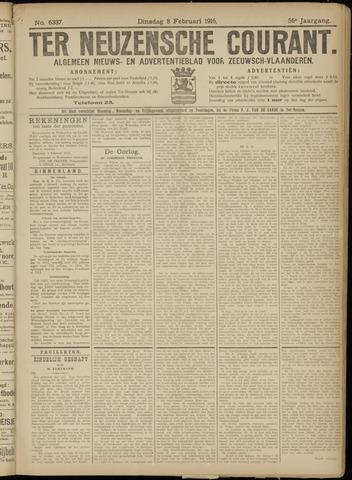 Ter Neuzensche Courant. Algemeen Nieuws- en Advertentieblad voor Zeeuwsch-Vlaanderen / Neuzensche Courant ... (idem) / (Algemeen) nieuws en advertentieblad voor Zeeuwsch-Vlaanderen 1916-02-08