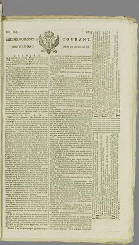 Middelburgsche Courant 1805-08-22