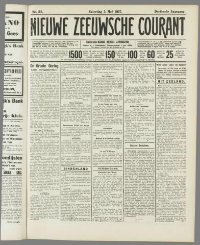 Nieuwe Zeeuwsche Courant 1917-05-05