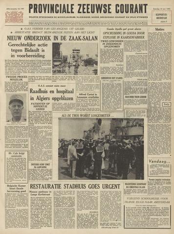Provinciale Zeeuwse Courant 1962-06-16