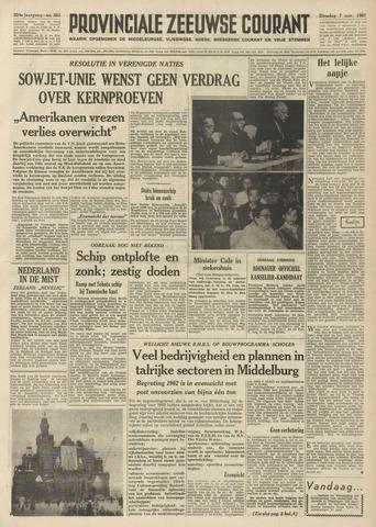 Provinciale Zeeuwse Courant 1961-11-07