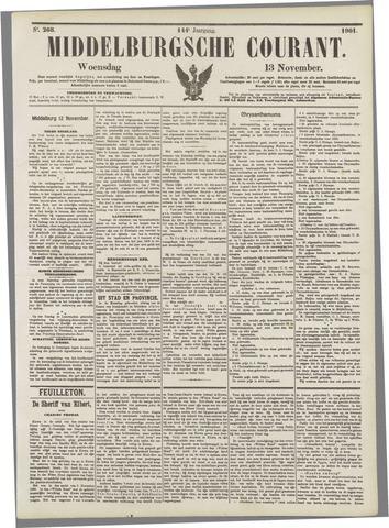 Middelburgsche Courant 1901-11-13