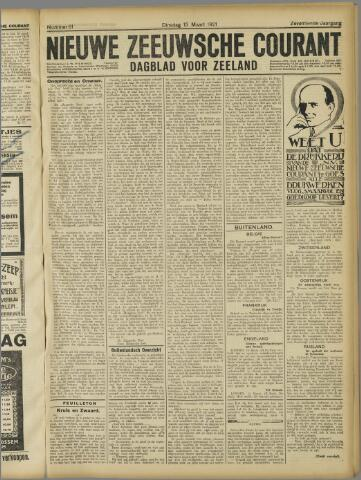 Nieuwe Zeeuwsche Courant 1921-03-15