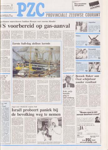 Provinciale Zeeuwse Courant 1990-08-10