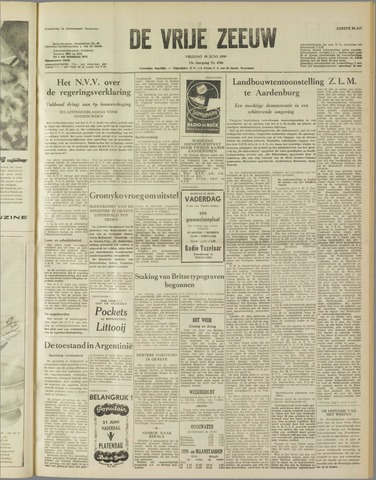 de Vrije Zeeuw 1959-06-19