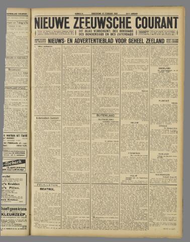 Nieuwe Zeeuwsche Courant 1926-02-25