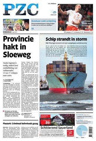 Provinciale Zeeuwse Courant 2015-04-01
