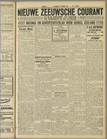 Nieuwe Zeeuwsche Courant 1929-10-12