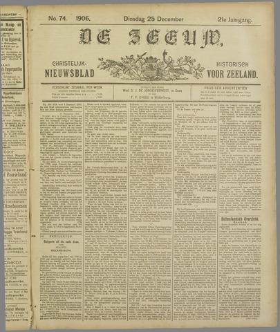 De Zeeuw. Christelijk-historisch nieuwsblad voor Zeeland 1906-12-25