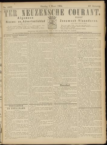 Ter Neuzensche Courant. Algemeen Nieuws- en Advertentieblad voor Zeeuwsch-Vlaanderen / Neuzensche Courant ... (idem) / (Algemeen) nieuws en advertentieblad voor Zeeuwsch-Vlaanderen 1904-03-01