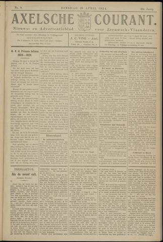 Axelsche Courant 1924-04-29